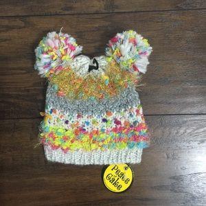NWT - Peace of cake kids hats