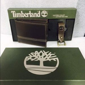 Timberland Other - Brand new men's timberland wallet with key fob