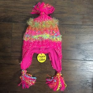NWT - peace of cake kids hat