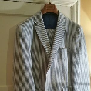 Giorgio Fiorelli Other - Men's 2-piece light blue sear sucker suit