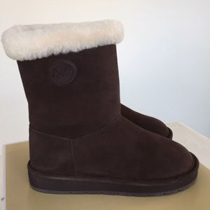 Brand new Michael Kors sheepskin boots