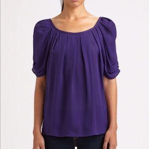 Joie Eleanor blouse in purple size 2