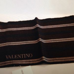 Valentino Other - Valentino Striped Wool Scarf