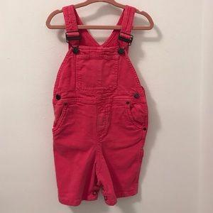 Bonpoint Other - Bonpoint girls pink denim overalls 18months