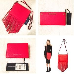 Rebecca Minkoff Handbags - 33% OFF! Rebecca Minkoff Fringe Boho Crossbody