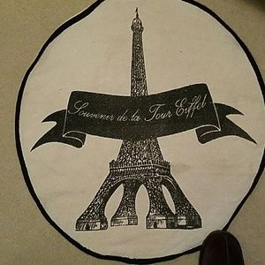 Price firm. Paris eiffel tower rug