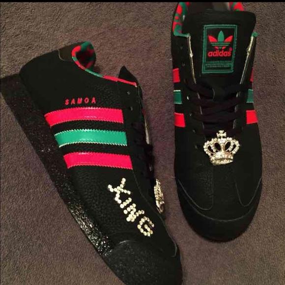 gucci adidas shoes. adidas shoes - custom gucci kings! my loss, your gain! e