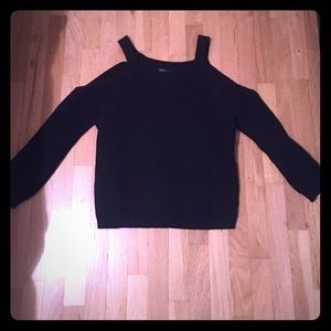 Central Park West Sweaters - Central Park West cold shoulder sweater