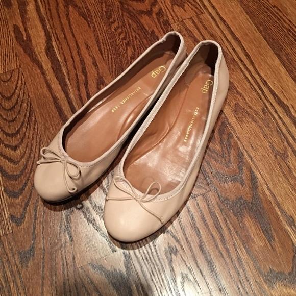 dceb1cee3 GAP Shoes | Leather Ballet Flat Size 85 | Poshmark