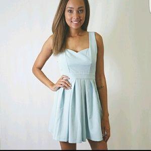 Tea n Cup Dresses & Skirts - Blue Classic Heart Dress!!