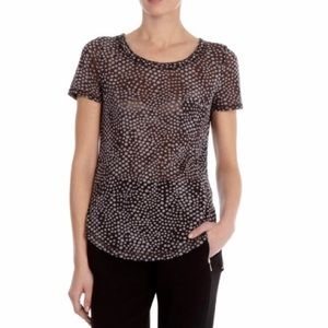 Karen Millen Devore Polka Dot Top