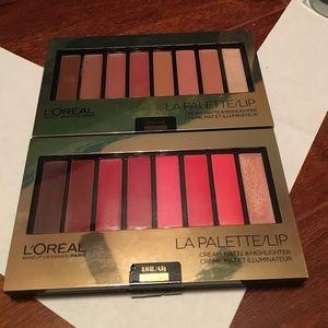L'Oréal La Lip Palletes!