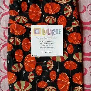 LuLaRoe Pants - New Lularoe 🦄 print with umbrellas OS