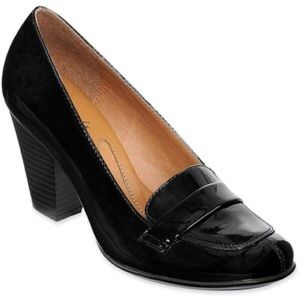 Sofft Shoes - SOFFT EUROSOFT Randi Black Patent Leather Heel