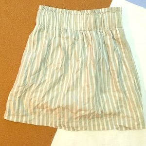 Urban Outfitters Pin Stripped Skirt
