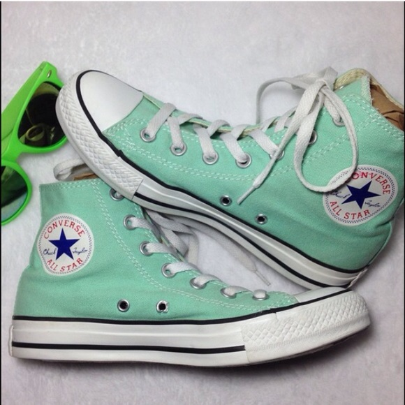 5a092c441b7 Converse Shoes - Converse Chuck Taylor Unisex mint green high top