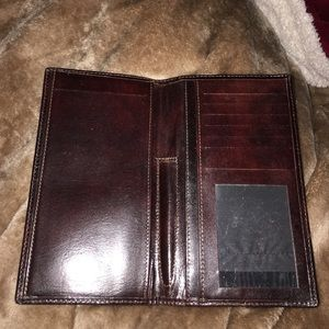Bosca Handbags - Bosca wallet gorgeous leather incredible color