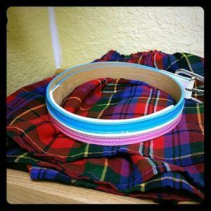 Lacoste Accessories - Lacoste preppy patent leather belt.