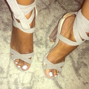 Pink Translucent Heels