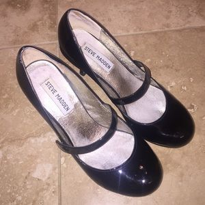 Steve Madden Patent Mary Janes