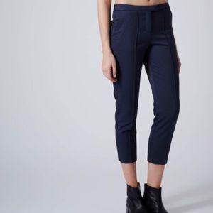 Topshop PETITE Pants - Topshop Petite Textured Cigarette Trousers