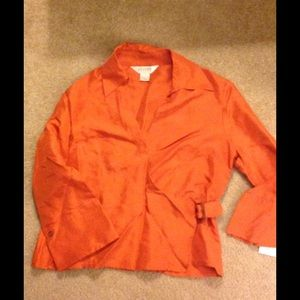 Allison Taylor  Tops - Never Worn - Wrap Blouse
