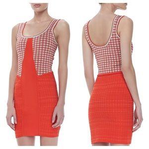 Z Spoke by Zac Posen Dresses & Skirts - Z Spoke Zac Posen Red Orange/Combo Polka Dot Dress