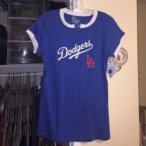 5th & Ocean Tops - Authentic LA Dodgers T-Shirt