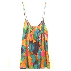 Karen Zambos Tops - Karen Zambos Vintage Couture Floral Tank