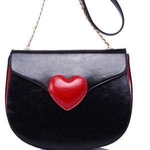 ❤️ Heart Crossbody Bag