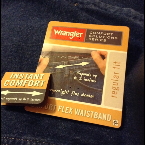 x regular wrangler jean flex with picture men stonewash p waistband comforter fit s of comfort mens dark