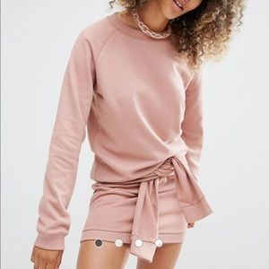 ASOS Tops - Sale❗❗Daisy Street Relaxed Sweatshirt Co-Ord
