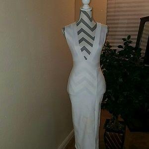 Beautiful figure flattering sexy strait dress
