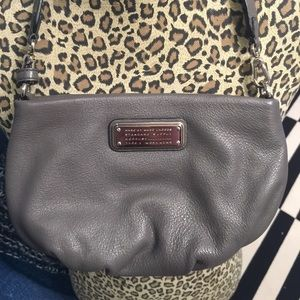 Marc Jacobs grey cross body with matching wallet.