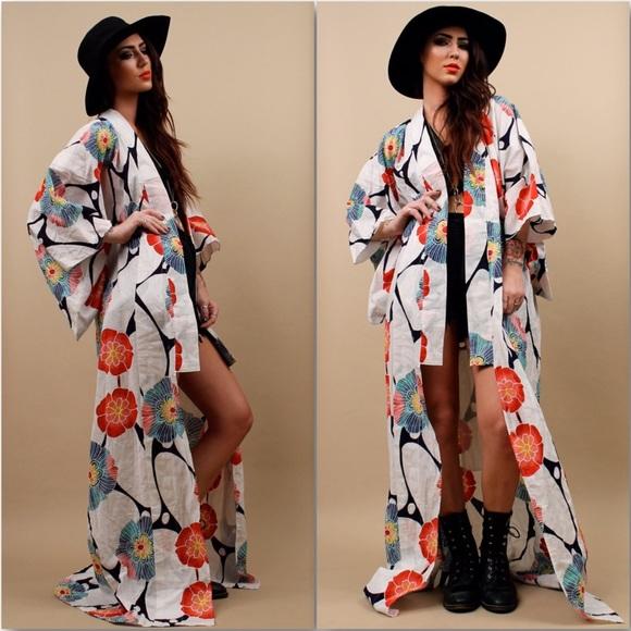 ... Kimono Robe Full Length. M 5944053156b2d6151500956c 651d4de18