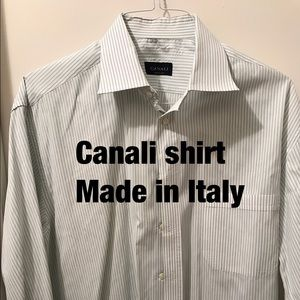 Canali Other - Price drop!  100% cotton dress shirt from Canali