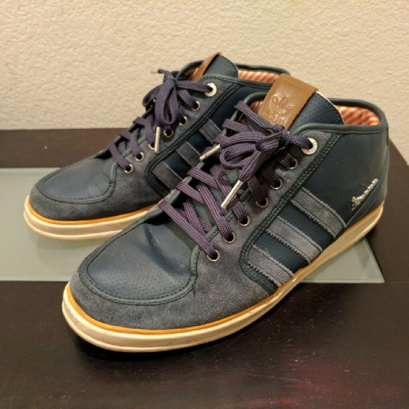 Adidas x Vespa Mid top Sneakers size 10