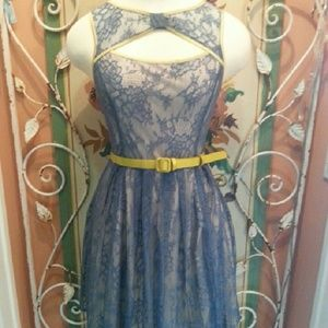Vintage Inspired Lace Dress by RYU