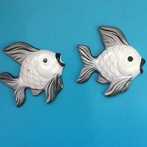 VTG 60's fishes kitsch