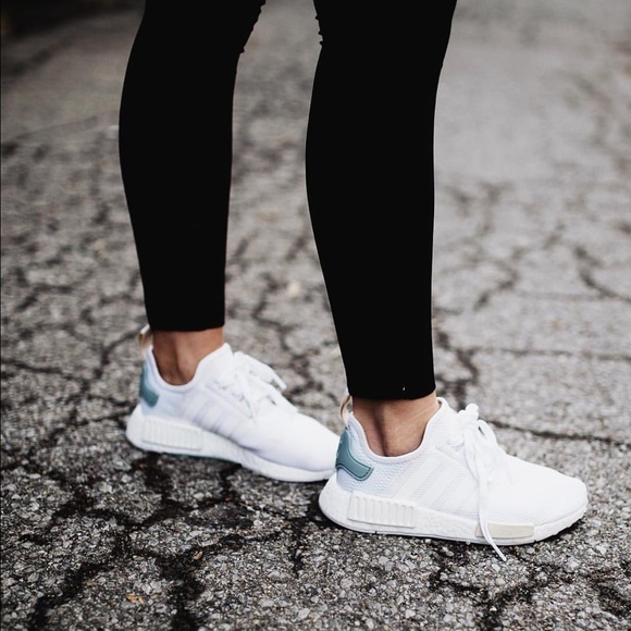 adidas nmd runner white shoes womens