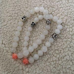 NWOT Trendy handmade natural stone bracelets!