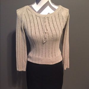 Bloomingdale's Tops - Sale-Like New Tan Knit Top