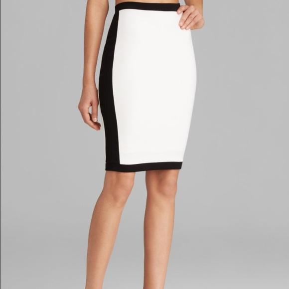 0a3a3f727a Bailey 44 Dresses & Skirts - Bailey 44 Senegal Contrast Trim Knit Pencil  Skirt