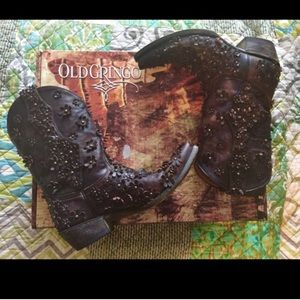 Old Gringo Shoes - Old Gringo Hippie Chick Chocolate Boot
