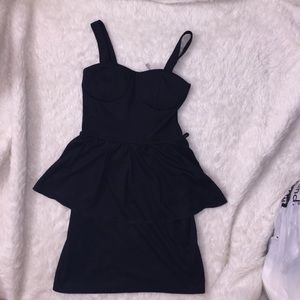 Ami Dresses & Skirts - Black peplum dress