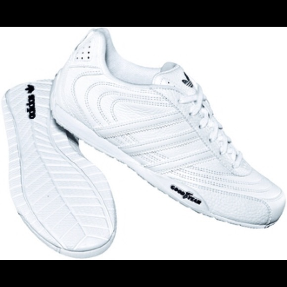 adidas Originals Goodyear Rue 012043 Baskets Hommes Blanc