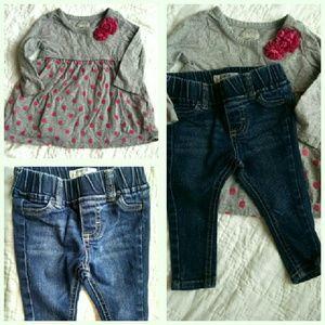 Osh Kosh Other - Skinny Jeans & Top