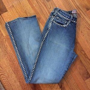 Parasuco Denim - EUC vintage Parasuco studded jeans