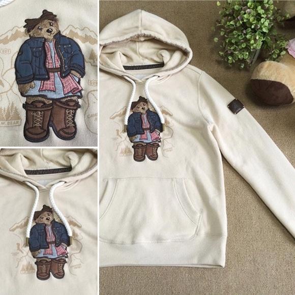 7335f136 Teenie Weenie Tops | Bear Hoodie | Poshmark