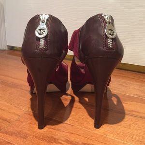 MICHAEL Michael Kors Shoes - Michael Kors Ariel Suede Platform Sandal, Sz 9.5